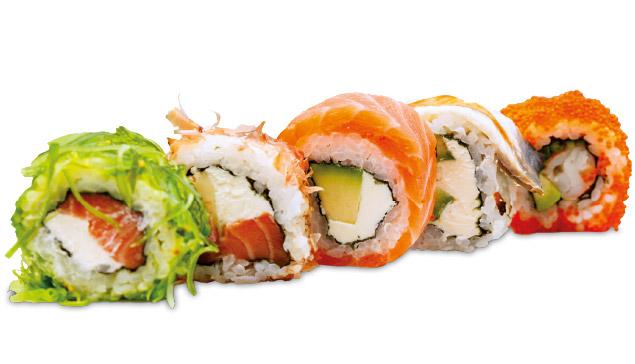 Sushi - Pomarancino